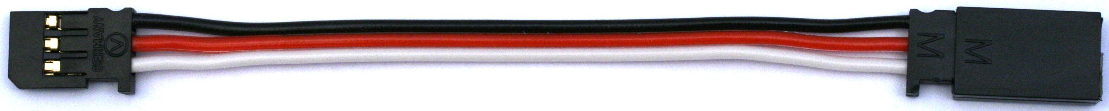 Servokabel Futaba, einzeln verpackt|Servoverlängerungskabel Standard, verpackt1