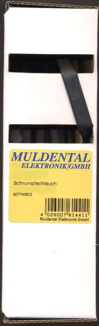 Schrumpfschlauch, polyolefin 2:1 Boxen1