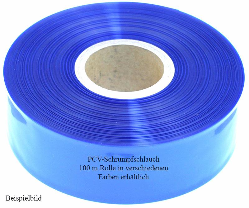 Schrumpfschlauch, PVC|100-m-Rollen1