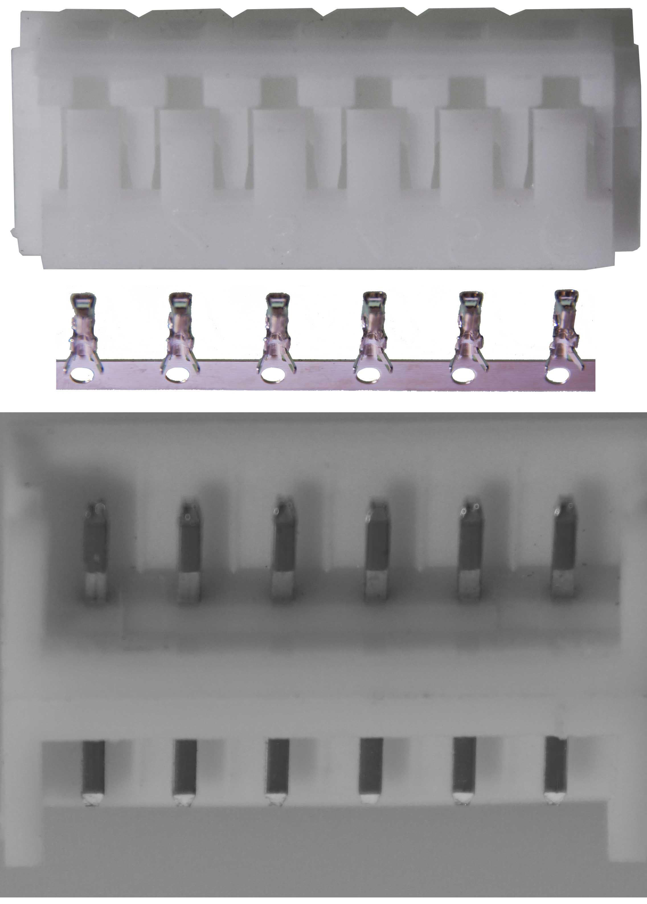 Steckverbindungen, einzeln verpackt|Crimpbar, verpackt1